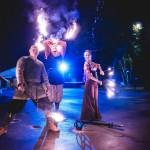 Огненное и световое шоу Энотера