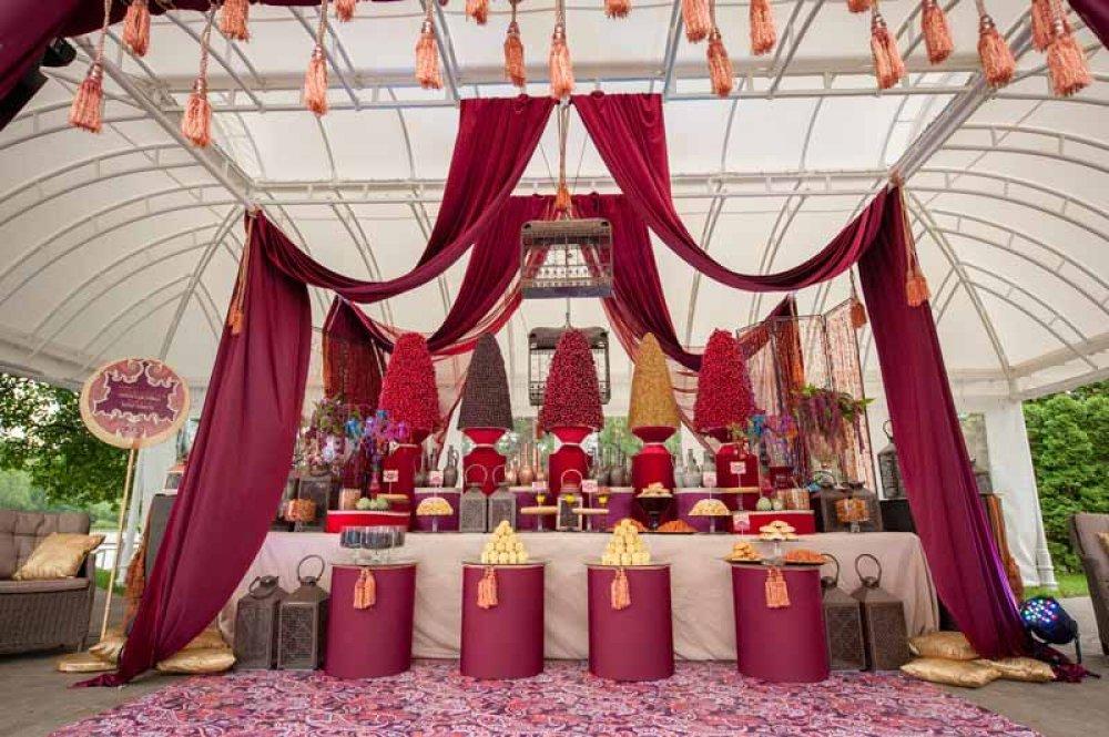 Свадьба в Восточном стиле. Как организовать