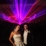 Лазерное шоу на свадьбу Laser Show Podolsk
